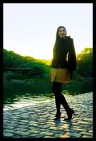 Eugenia in the park by ElkeF