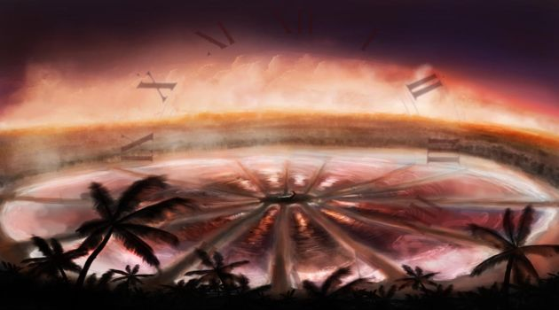Catching Fire Arena by Dannyboy974