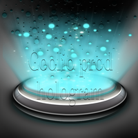 hologram icon par coolio by cooliographistyle