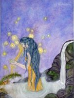 Four elements: Water by Lorellyne