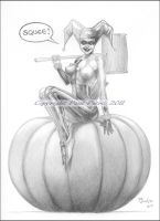 Happy Harleyween 2011 by Artman2112