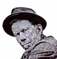 Tom Waits by kristrappeniers