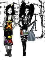 Grunge style by I-and-Me