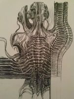 Giger Spine by danieldenta169