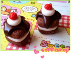 Hot fudge charms by coffishop