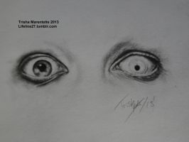 Marilyn Manson Eyes by Acidic-Destruction