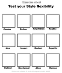 Test your Style flexibility by Ash-Dragon-wolf