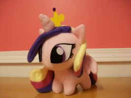 Princess Cadance Chibi Pony Plushie MLP FIM by happybunny86