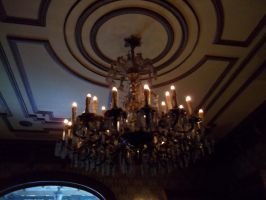 Haunted Mansion Chandelier by foxanime101