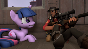 Sniper and Twilight by FD-Daylight