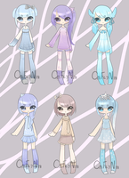 Random light coloured set [closed] by C18Fe7N18