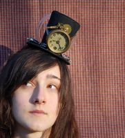 Tiny Top Hat: Steam Punk Time Machine by TinyTopHats
