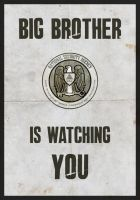 Big Brother is watching. by SixPixeldesign