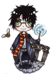 Harry Potter Chibi by TheKingOfMoths