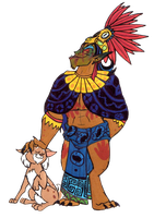Aztec Psychopath by Ghost-Peacock