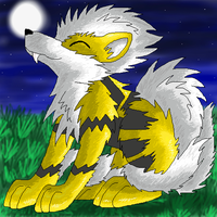 Shiny Arcanine by racingwolf