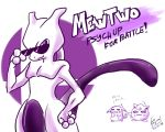 Mewtwo strikes back in smash! by DavidGongora
