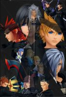 Kingdom hearts by thedominator277