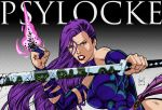Psylocke Retro by snoozzzzzz