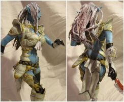 Dark Elf 3D details by SgtMilenko