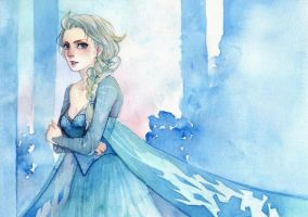 Elsa - Frozen by Kuno-san