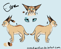 Eshe Ref by overconfidentfish