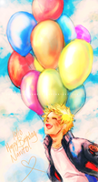 Happy Birthday Naruto by CarrotCakeBandit