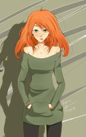 The Redhead by Hita-san