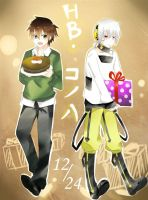 Happy birthday konoha :3 by MeganeBanchou08