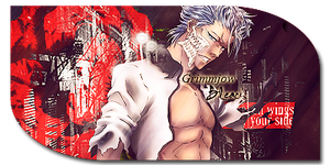 Grimmjow Sign by CagBcn