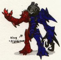 Hero-108 OC: King Nightmare by Kainsword-Kaijin