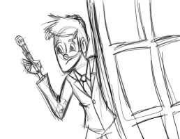 10th Doctor by pascalscribbles