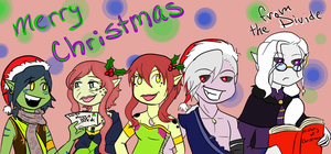 Merry Christmas from The Divide by MousieDoodles