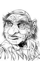 Hoggle - NOV '11 Sketch a Day 6 by JeremiahLambertArt