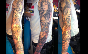 Sleeve by Malitia-tattoo89