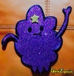 Sparkly Lumpy Space Princess by YesiEguia
