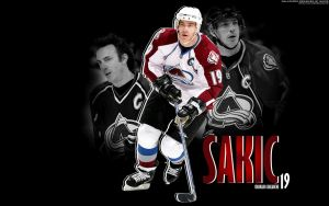 Joe Sakic Wallpaper by Sim25-Design