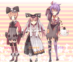 Adoptable set - auction - 1-3 [ closed ] by kyappa