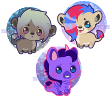 mini critters ~ kainaa 02 by Miss-Glitter