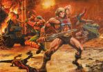 He-Man - Attack of the Invisible Gnomes by SiMoSol