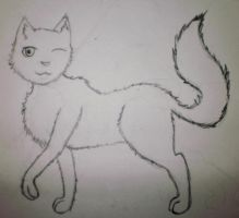 My Attempt at a Cat by purplepeep22