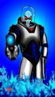 mr. freeze colored ver.2 by tptrsn