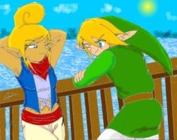 link_and_tetra_grown_up by Shadowgirl89
