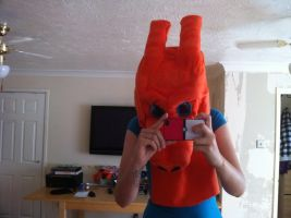 charizard cosplay head improved 1 by DanteJackpot