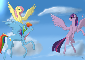 Up In the Sky by SketchyStart