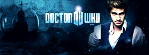 Andrew Garfield as Doctor Who Facebook Cover 2 by Super-Fan-Wallpapers