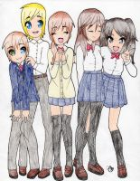 Corpse Party Ocs by SwimFree