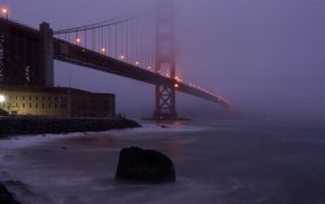 Bridge in the Mists by MattGranzPhotography
