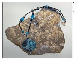 Turquoise Necklace by seiyalover