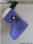 Luna MLP Christmas Stocking by Whyte-Raven